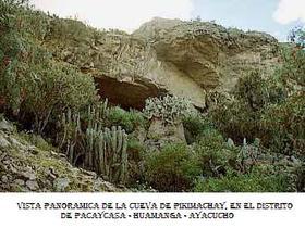 Cuevas de Pikimachay o Piquimachay