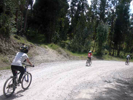 Bicicleta en Huasahuasi