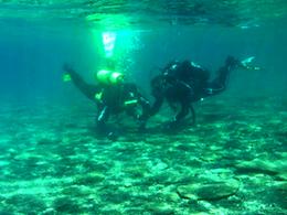 Buceo en Balneario de tortugas