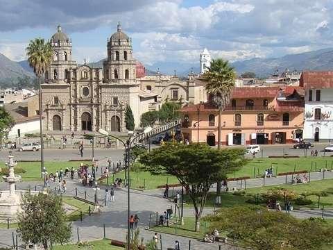 Fiestas Patrias en Cajamarca