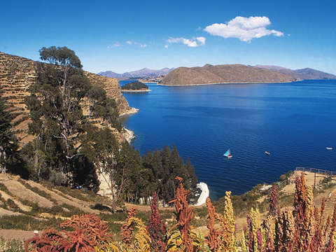 Amanecer Lago Titicaca Amantani Peru Bolivia Super Oferta